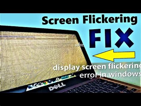 Windows 10 - How to Fix Screen Flashing and Flickering