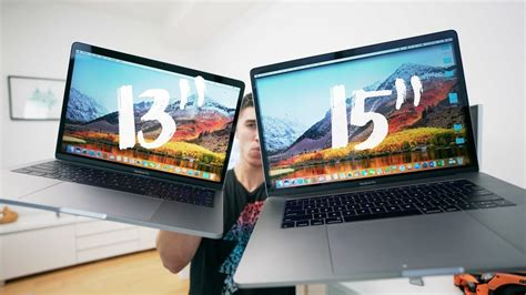 """13"""" vs 15"""" 2017 Macbook Pro - FULL REVIEW - YouTube (With"""