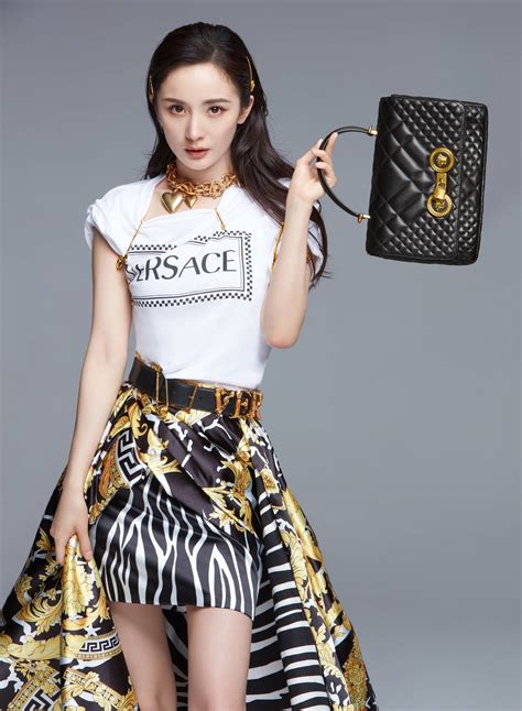 Yang Mi is New Versace Ambassador, its First in China