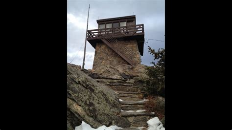 Narrated Tour of Squaw Mountain Fire Lookout (Tower