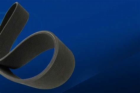 Double-Sided Poly V - Double power transmission by belt