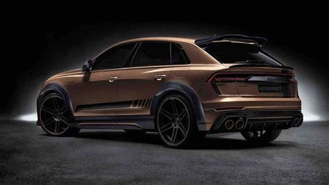 Audi RS Q8 with gold details and dizzying price • neoAdviser