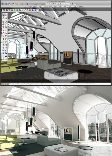 Make your SketchUp models more realistic with Maxwell