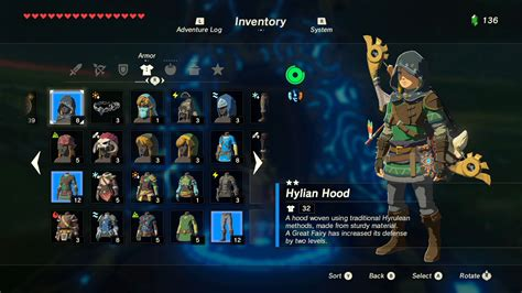 The Legend of Zelda: Breath of the Wild Guide: Armor Set