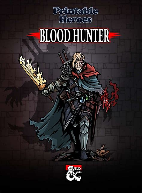 Blood Hunter Paper Miniature - Dungeon Masters Guild