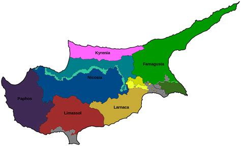 Districts of Cyprus - Wikipedia