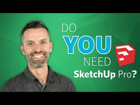 SketchUp: How to Scale a Not-to-Scale Floor Plan - YouTube