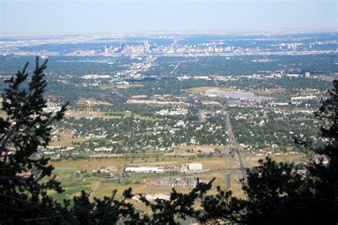 Colorado - Golden: View from Lookout Mountain | Lookout